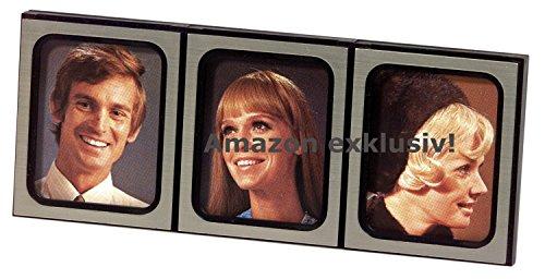 Preisvergleich Produktbild Historischer KFZ 3er Fotorahmen Bilderrahmen 1975
