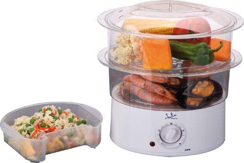 Jata Cocina Al Vapor Cv200, 400 W, 0.5 litros, 0 Decibeles, Color blanco