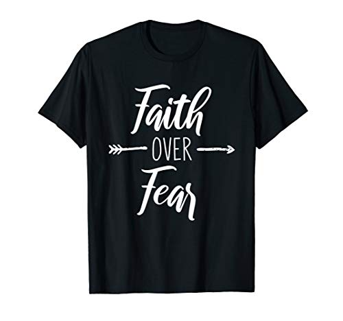 Christlicher Glaube über Fear Arrow Shirt -