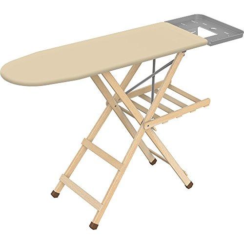Framar Eco Legno - Wooden Ironing Board, 141 L x 40.5 W x 90 H cm