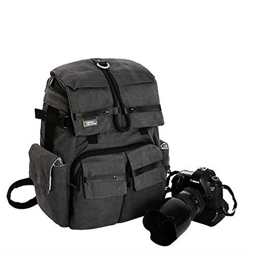 LcBag Outdoor wasserdichte Kameratasche Kamera Rucksack echte Reise-Kameratasche kann 15,4-Zoll-Laptop setzen