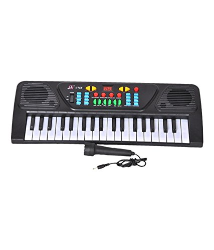 37 KEYS MUSICAL ELECTRONIC KEYBOARD PIANO WITH MIC MELODY MIXING PIANO TOY FOR KIDS Melody Mixing Kids Piano  available at amazon for Rs.499