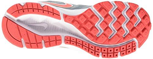 Nike Wmns Downshifter 6, Chaussures de Running Entrainement Femme Gris (Dove Grey/Hot Lava-White)