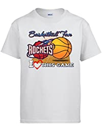 Camiseta NBA Houston Rockets Baloncesto Basketball Fan I Love This Game