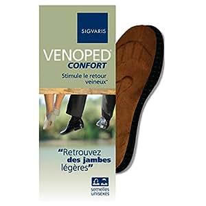 SIGVARIS VENOPED confort paire semelles taille 36