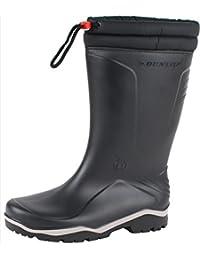 Dunlop Blizzard schwarz, Winter Gummistiefel