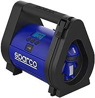 SPARCO Air Compressor and Tire Pressure Gauge, SPT160