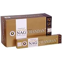 Räucherstäbchen Golden Nag Chandan 15g Masala Sandelholz Agabrathi Vijayshree Fragrance 1er, 3er, 6er, 12er (3) preisvergleich bei billige-tabletten.eu