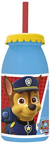 lla Canina-Flasche Milch 300ml mit Strohhalm (Stor 82713) ()