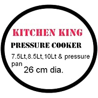 Kitchen King Stainless Steel Pressure cooker gasket8.5 to 10 Lt