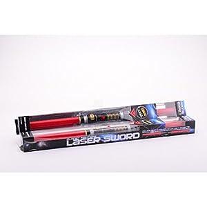 JohnToy 26905 Space - Espada Espacial Doble (108 cm, con luz y Sonido)