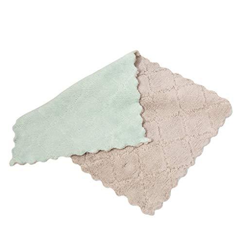 Topker Startseite Housekeeping Thick Mischfarbe Auto-Reinigungs-Tuch Küche Waschen Poliertuch Oil Free Wipes Handtuch