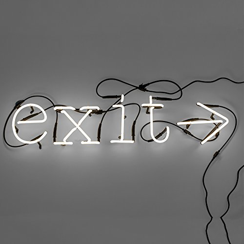 SELETTI 'Composition exit- > 5 Lettres Neon + Transformateur 01424 – 6 KV
