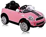 Mini Cooper S ROADSTAR 6 Volt Pink mit Fernsteuerung Elektroauto Elektro Auto Kinderauto