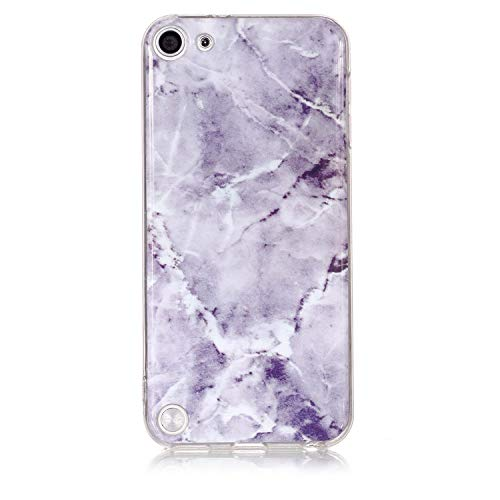 Ultra Dünn Slim Anti-Rutsch Flexible 3D Marble Kreative Soft Licht Gel Gomma TPU Bling Glitter Glitzer Silikon Schutz Handy Hülle Case Tasche Etui Bumper für Apple iPod Touch 5 Touch 6 - Den Für 3d-cases 5 Ipod Bling