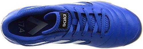 adidas Ace 17.4 Sala, Chaussures de Football Homme BLUE/FTWWHT/CBLACK