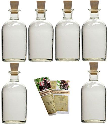 Apotheker Glasflaschen