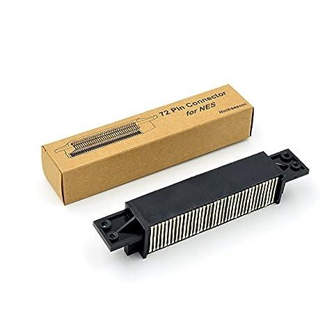 Remplacement NES 72 Pin cartouche de jeu de réparation Slot connecteur Red Light Clignotant Clignotant pour Nintendo NES 8 BIT Console