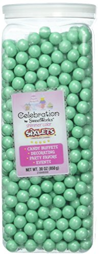 Sweetworks Celebrations by Sixlets(R) 30oz-Shimmer (TM) Turquoise
