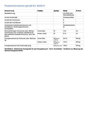 AEG HC452021EB eingebaut Keramik schwarz - 2