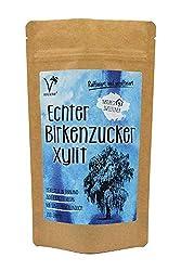 Kräuterladen Echter Birkenzucker (Xylit), natürlicher Zuckerersatz ohne Mais aus Finnland (1 x 200g)