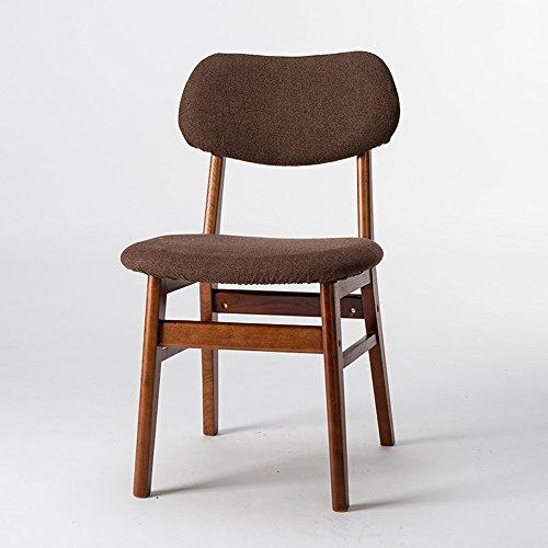 ZHANGRONG- Chaises pliantes en bois de Housewares pour le café, le bistro, le dîner, le restaurant -Tabouret de canapé (Couleur : Marron, taille : B)