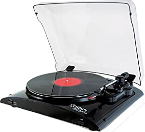 ION Audio Profile LP Turntable with USB Conversion - Black