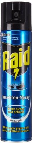 Raid Paral Insektenspray, 4er Pack (4 x 400 ml)