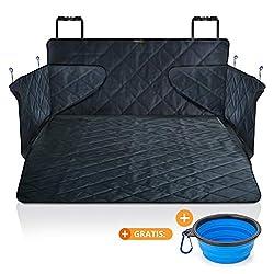 smartpeas Kofferraumdecke für Hunde XXL - Kofferraumschutz für jedes Auto fängt Nässe, Schmutz & Haare - Robuste, Gesteppte Hundedecke mit Seitenschutz 185 * 105 * 36 cm