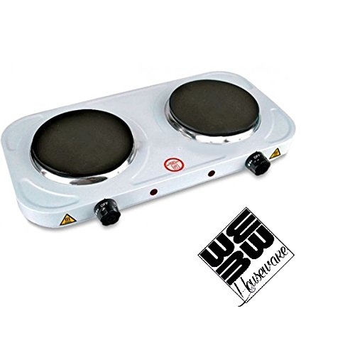 JPWonline - Cocina Hornillo eléctrico doble BN-3650