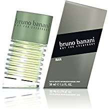 bruno banani Man Eau de Toilette Natural Spray, 1er Pack (1 x 50 ml)