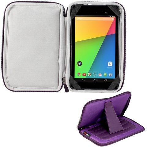 Navitech lilanes 7 Zoll Neoprene Case Cover Tasche mit Stand und Stylus Pen für das Bush 7 Inch Tablet / Lexibook 7