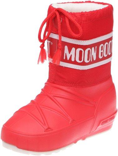 Tecnica Mädchen Moon Boot POD JR Rosso Schneestiefel, Rot (Red 002), 29/30 EU