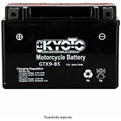 Batterie Moto KYOTO Ytx9-bs - Ss Entr. Acide L 150mm W 87mm H 105mm 12v 8ah Acide 0,47l