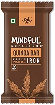 EAT Anytime Mindful Quinoa Millet Energy Bars Loaded with Iron, 300 g (12 x 25g)