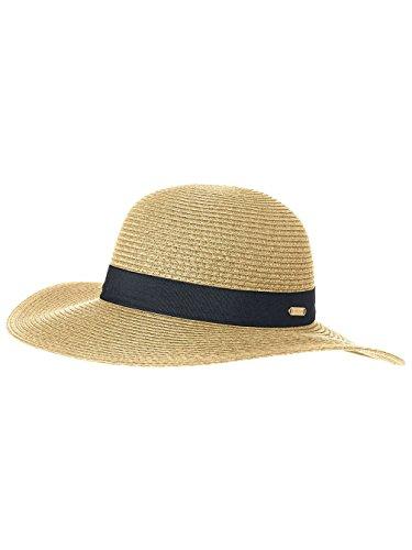 RIP CURL Dakota Short Mujer Brim Boho Sombrero, Mujer, GHAEE1, Natural