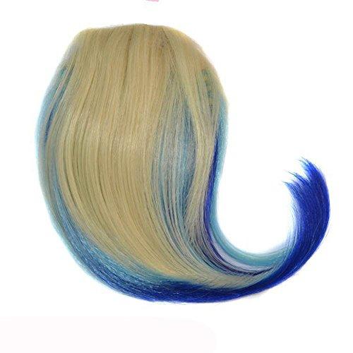 Rifuli® Perrücke Pretty Girls Clip On Clip In Front Hair Bang Fringe Hair Extension Piece Thin Perrücke Frauen