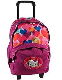 Hello Kitty Sac à Dos Enfants avec 2 Compartiments 45 cm (fuchsia) w9SbXCQF