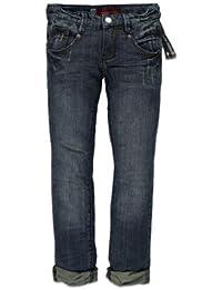 Blue Rebel Garçon Jeans CONCRETE Rebel wash