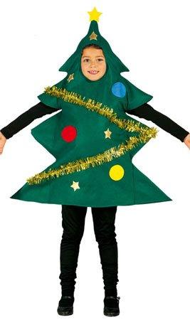 Costume da albero di Natale bambino 7-9 anni