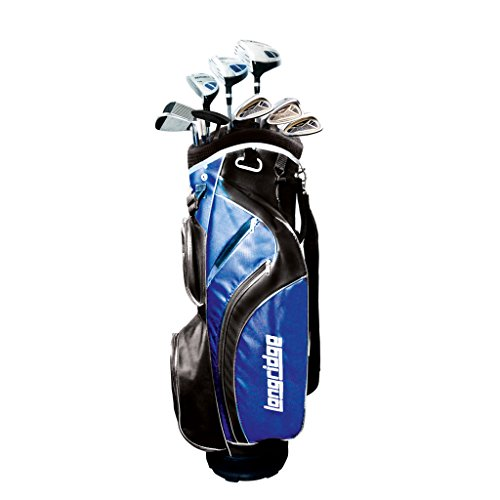 Longridge Herren Vector LH Golf Set (12Stück)–Schwarz
