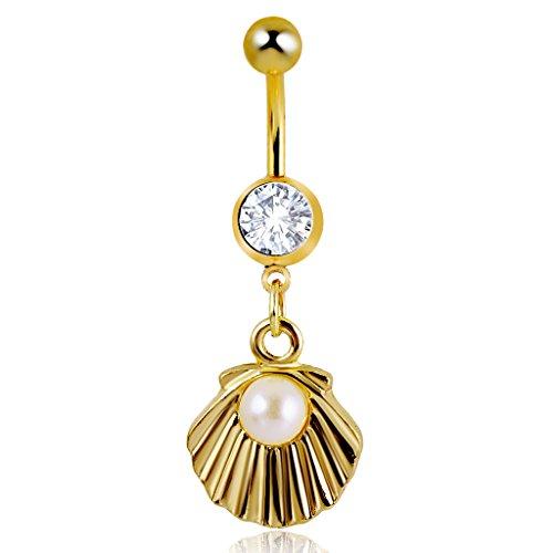 shell-perla-modo-ciondola-ventre-anello-del-tasto-di-bar-body-piercing-gioielli-in-oro