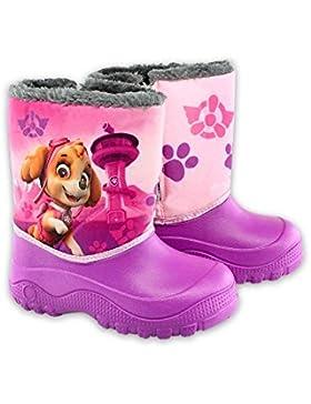 4922 Gefütterte Kinder Schneestiefel Gummistiefel Regenstiefel - Paw Patrol Skye