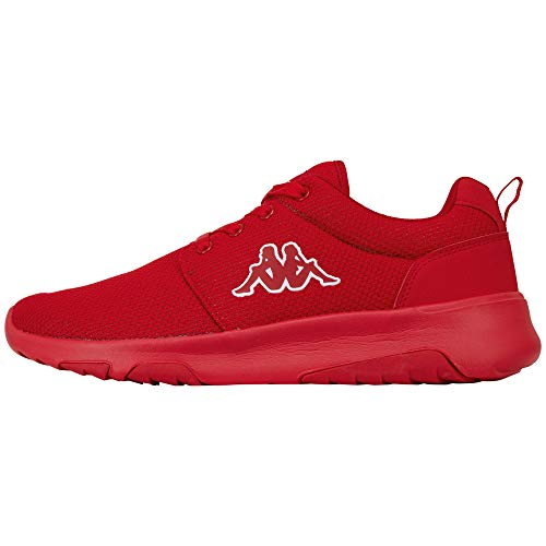 Kappa Herren SASH Sneaker, Rot (Red 2020), 45 EU