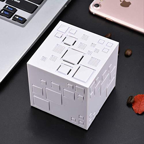 Hjkg Cubo Rubik Bluetooth Altavoz Creative Fancy Color