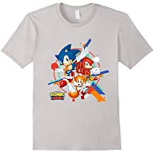 Official Sonic Mania Character T-shirt
