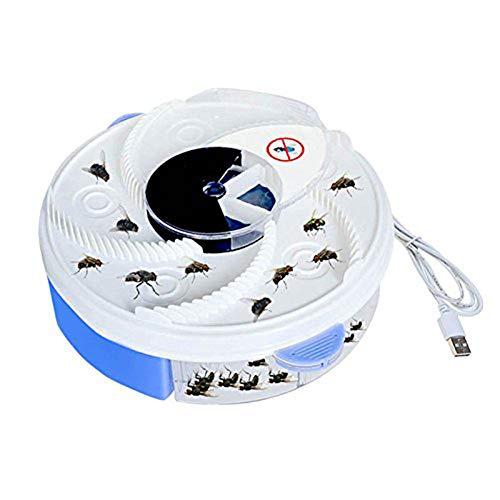 YOLE Elektrische Fliegenfalle Gerät, Bug Zapper Elektronische Insektenvernichter Insektenvernichter Insektenvernichter Fliegenfänger mit USB-Anschluss Indoor Moskitos Fly Pest Catcher für,USB