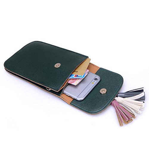 Vintage Nappe Mini Bag/0 Portafoglio Con Collo Verticale-C A