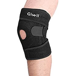 giwil, alta calidad rodillera rodilleras para ayudar a la estabilización y recuperación