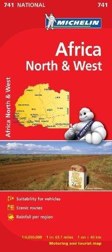 Africa nord ovest 1:4.000.000 (Carte nazionali)